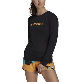 adidas TERREX Primeblue Trail Longsleeve Shirt Women black